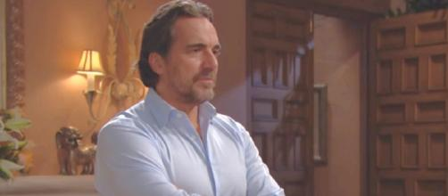 Ridge Forrester is in a tight spot. [Image Source: CBS Official Account/YouTube]
