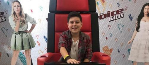"""""""The Voice Kids"""" é um programa da TV Globo. (Reprodução/Instagram/@tucaalmeidacantor)"""