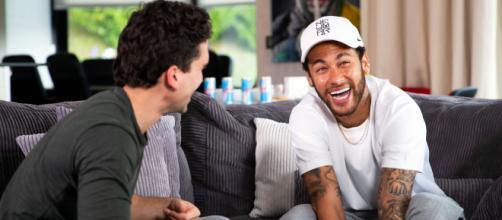 Neymar Jr faz declaração para Rainha da Sofrência. (Arquivo Blasting News)