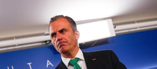 Ortega Smith ha perdido poder en el partido tras dar positivo en coronavirus
