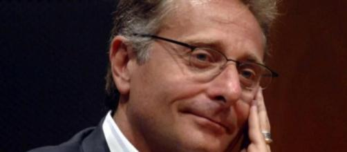 Paolo Bonolis, conduttore televisivo di Mediaset.