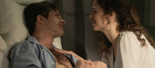 Una Vita, spoiler Spagna: Samuel si sacrifica per salvare Genoveva dalla furia di Cristobal.
