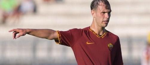 Alessio Riccardi, centrocampista della Primavera della Roma.