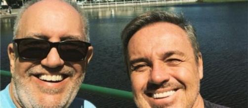 Amigo de Gugu Liberato, Homero Salles, decide expor sua opinião sobre as falas do Thiago Salvático. (Reprodução/Instagram)
