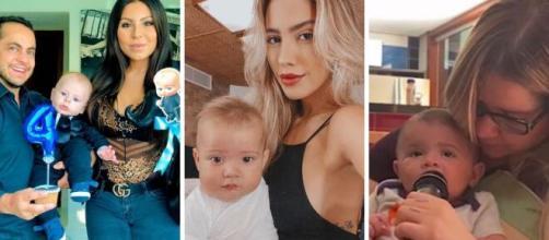 """Celebridades que comemoraram pela primeira vez o 'Dia das Mães"""" (Foto/Montagem)"""