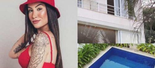 Ex-BBB compra casa de três andares com piscina e mostra fotos. (Arquivo Blasting News)