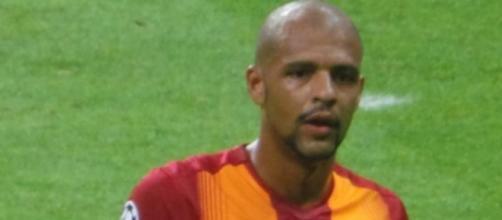 Felipe Melo, ex centrocampista della Juventus.