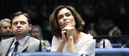 Giuliana Morrone e Gerson Camarotti. (Arquivo Blasting News)