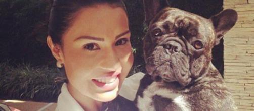 Gracyanne Barbosa compara tombo de sua cachorro com o de Ludmilla (Arquivo Blasting News)