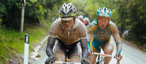 La tappa di Montalcino del Giro d'Italia 2010: Vincenzo Nibali cadde e perse la maglia rosa