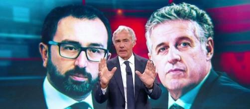 Massimo Giletti torna sul caso Bonafede-Di Matteo