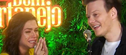 Michel Teló e Thais Fersoza são pais de Melinda e Teodoro. (Reprodução/Youtube/@michelteló)