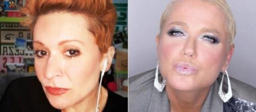 A cantora criticou Xuxa, que logo rebateu. (Fotomontagem)