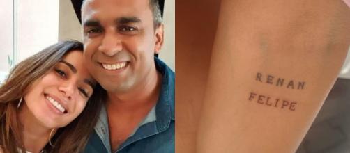 Anitta tatua nome de irmão reconhecido no ano passado e diz: 'é tudo que eu sonhava'. (Arquivo Blasting News)