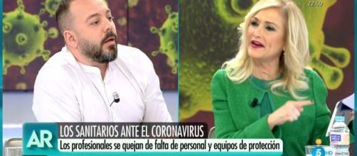 Antonio Maestre ha sido despedido de Ana Rosa (Telecinco) por su actitud crítica