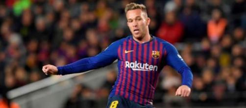 Arthur, centrocampista del Barcellona.