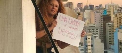 Cantora Mel viralizou com meme sobre 'Fina Estampa'. (Arquivo Blasting News)