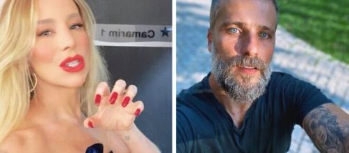 Danielle Winitis e Bruno Galiasso já foram noivos no passado. (Fotomontagem)