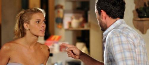 Teodora será humilhada por Quinzé em cenas de Fina Estampa. (Reprodução/TV Globo)