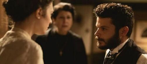 Una Vita, spoiler fino al 22 maggio: Eduardo vieta a Lucia di vedere Telmo
