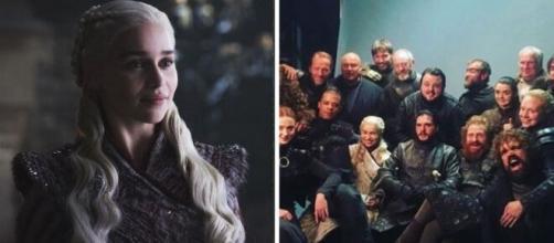 A atriz Emilia Clarke deu vida a personagem de Daenerys Targaryen na série. (Foto/Montagem)