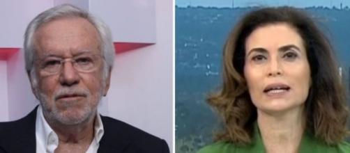 "Alexandre Garcia critica fala de Giuliana Morrone após áudio vazar: ""máscara cai"". (Reprodução/YouTube))"