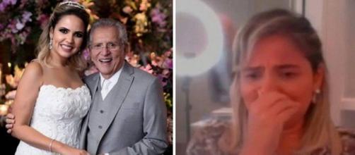 Carlos Alberto e Renata são casados há dois anos. (Reprodução/Instagram/@drarenata_domingues/Rede TV!)