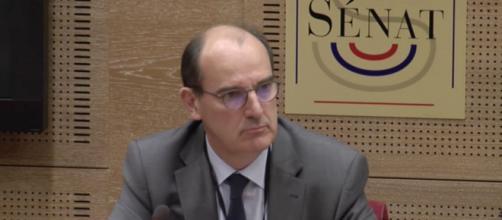 """Déconfinement : pour Jean Castex, """"un reconfinement en urgence doit être anticipé"""". Credit: Capture Senat"""