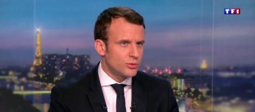 Emmanuel Macron devra créer une nouvelle politique après la crise du coronavirus. Credit: Capture TF1