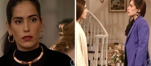 Glória Pires se destacou nas personagens Ruth/Raquel, duas irmãs gêmeas com personalidades completamente diferentes. (Foto/Montagem)