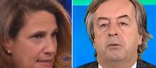 Ilaria Capua e Roberto Burioni.