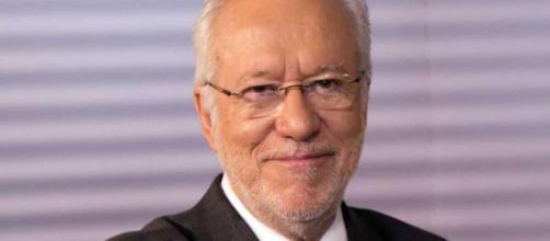 Jornalista Alexandre Garcia trabalhou para TV Globo durante 30 anos, inclusive trabalhou ao lado de Morrone. (Arquivo Blasting News)