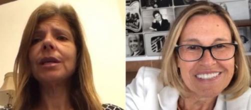 Rose Miriam di Matteo protocolou uma petição para rebater os ataques feitos por Aparecida Liberato. ( Reprodução/Instagram )
