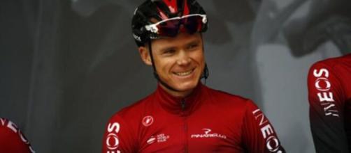 Chris Froome, quattro volte vincitore del Tour de France.