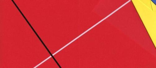 Grazia Varisco e il suo florilegio geometrico di pieghe e diagonali.