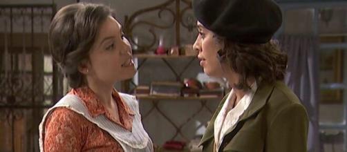 Il Segreto, anticipazioni al 23 maggio: Marcela e Alicia avranno un duro scontro