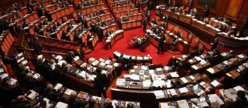 La Camera dei Deputati durante una seduta