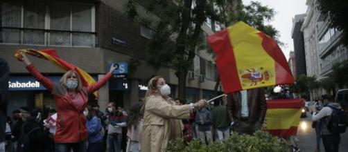 Las manifestaciones contra Sánchez y su gestión del coronavirus se expanden.