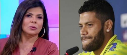 Mara Maravilha diz pretender processar Hulk. (Arquivo Blasting News)
