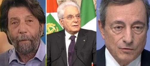Governo, Cacciari su Draghi: 'Mattarella si inventerà qualcosa come  Napolitano con Monti'