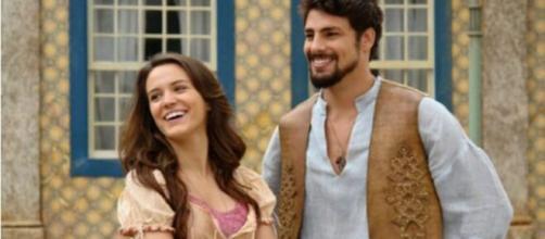 """Signos de celebridades que atuaram em """"Cordel Encantado"""". (Reprodução/TVGlobo)"""