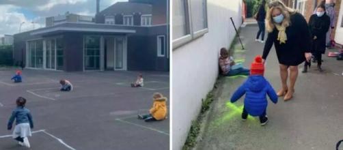 Deconfinement des photos qui font mal au coeur à Tourcoing - capture d'écran Twitter