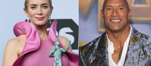Emily Blunt e Dwayne Johnson reciteranno insieme in 'Ball and Chain'