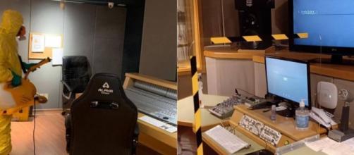 Estúdios da Delart, no Rio de Janeiro, passaram por higienização e sofreram adaptações antes de reabrirem. (Divulgação/Delart)