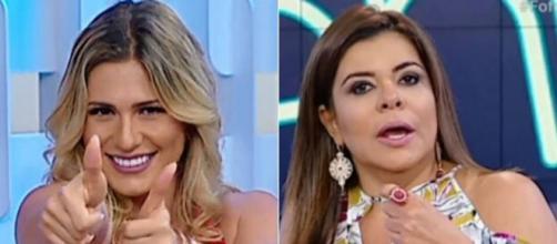 Silvio Santos tira Mara Maravilha e Lívia Andrade de programa. (Arquivo Blasting News)