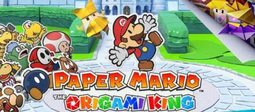 The 'Paper Mario' series returns. [Screenshot- YouTube/Nintendo]