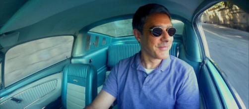 William Bonner é um dos amantes das quatro rodas e possui carros de se invejar. (Reprodução/TV Globo)