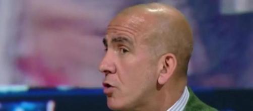 Paolo Di Canio, commentatore televisivo di Sky Sport.