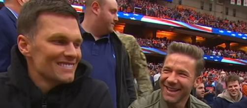 Brady and Edelman are known to be close friends (Image Credit: ESPN/YouTube)