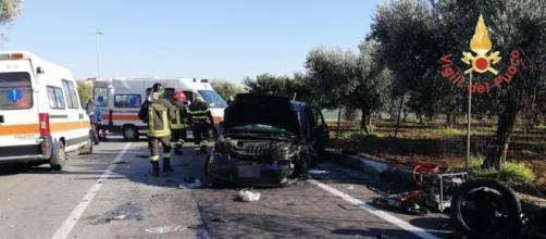 28enne calabrese muore in un incidente stradale: ferita gravemente anche una ragazza.